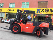 8.5 Ton Heavy Duty Forklift , Diesel Engine Forklift Truck Clearance Buffering Structure