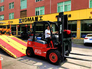 3T 3.5T Internal Combustion Forklift Low Vibration With Isuzu Engine