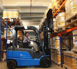 Dual Motor Battery Powered Forklift , Electric Fork Truck For Material Handing